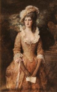 Clarissa, by John Everett Millias, 1887.
