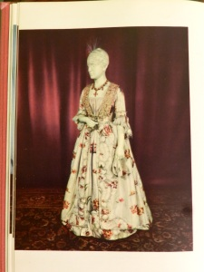 Dress of Elizabeth Kortright Munroe, from The Dresses of the First Ladies of the White House, 1952.