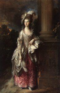 Thomas Gainsborough, The Honorable Mrs. Graham, 1775-7. Image courtesy of CGFA.