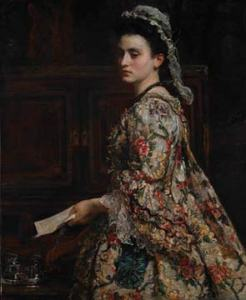 Vanessa, 1868 by John Everett Millais. Image courtesy of Liverpool Museums.