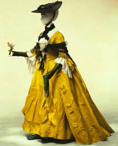 1760s ensemble, England. The Kyoto Costume Intstitute